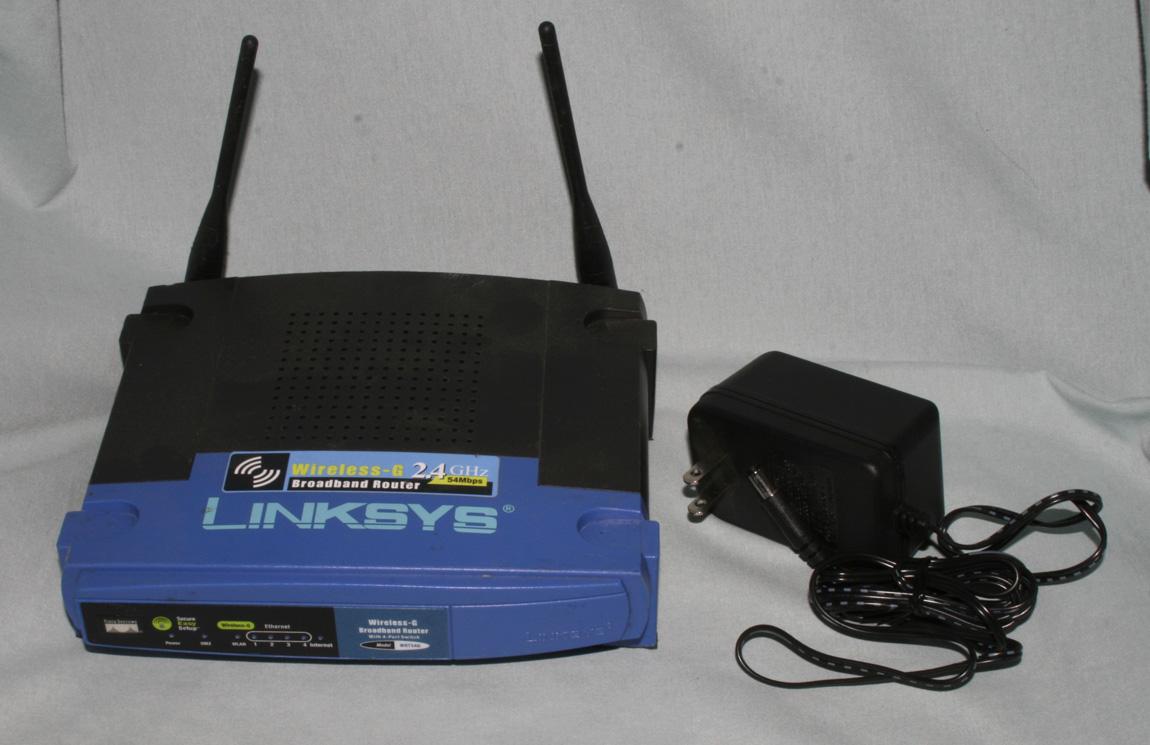 WRT54GL v1.1 Wireless G Router 2.4 GHZ