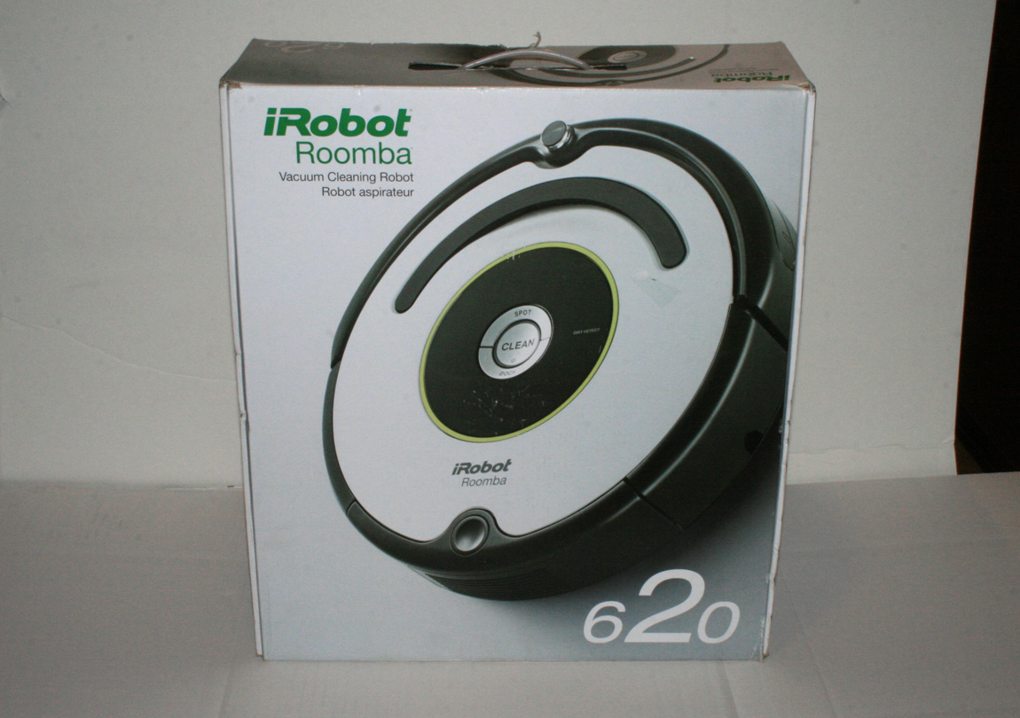 irobot roomba 620 vacuum cleaning robot w accessory. Black Bedroom Furniture Sets. Home Design Ideas