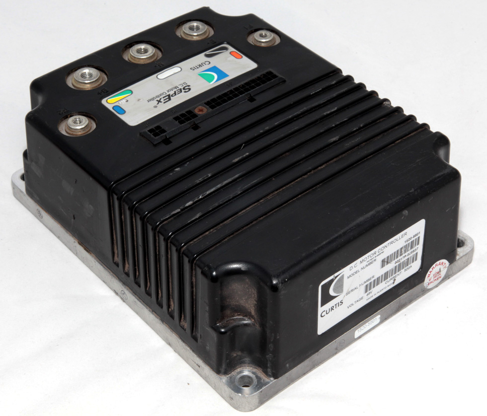 Curtis dc motor speed controller 48v 500a 1520 5501 ebay for 48v dc motor speed controller circuit