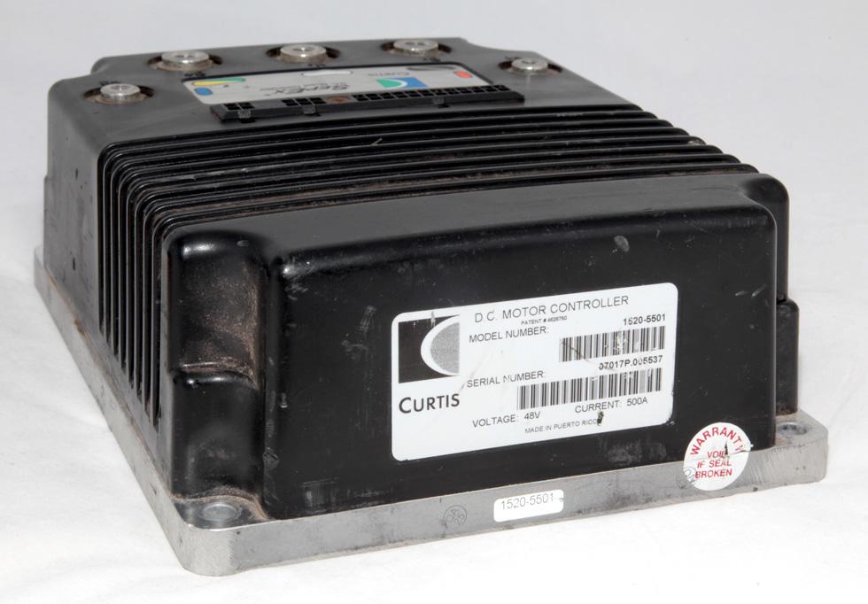 Curtis Dc Motor Speed Controller 48v 500a 1520 5501 Ebay