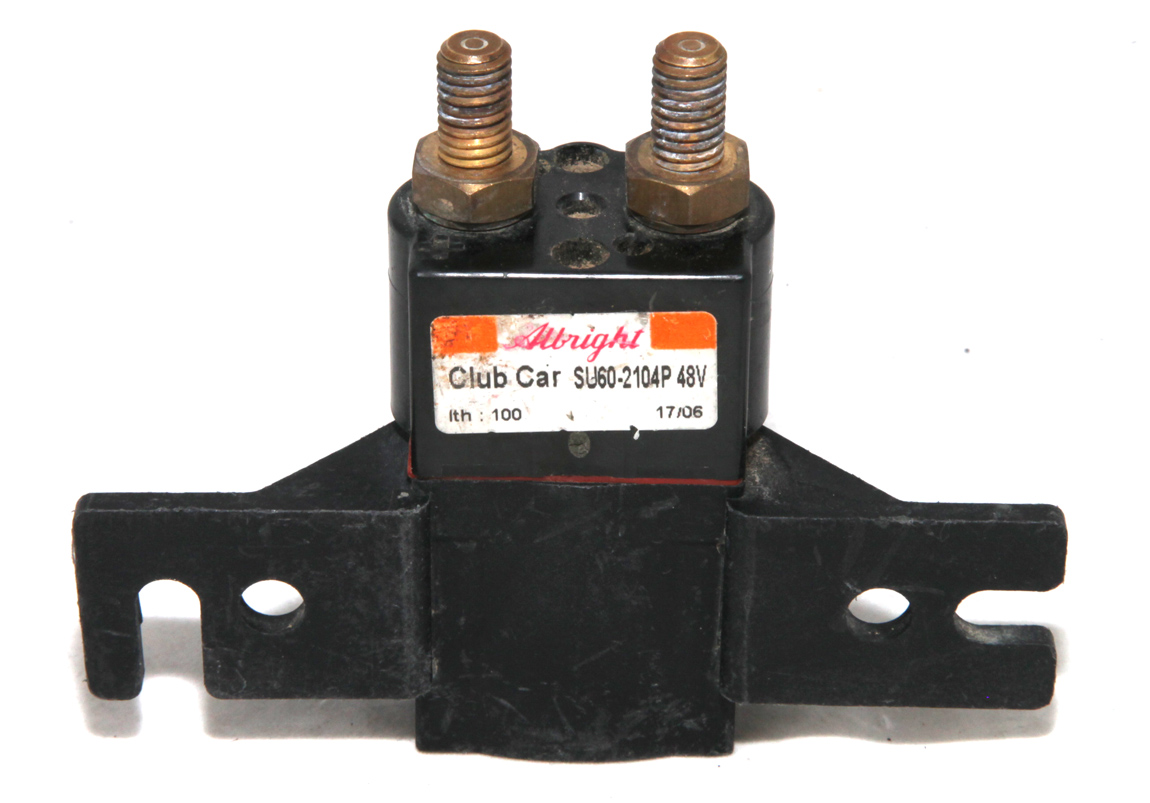 How Much Does It Cost To Ship A Car >> Albright Club Car 48V 100 Contactor Solenoid SU60-2104P SOL1706 For Golf Carts   eBay