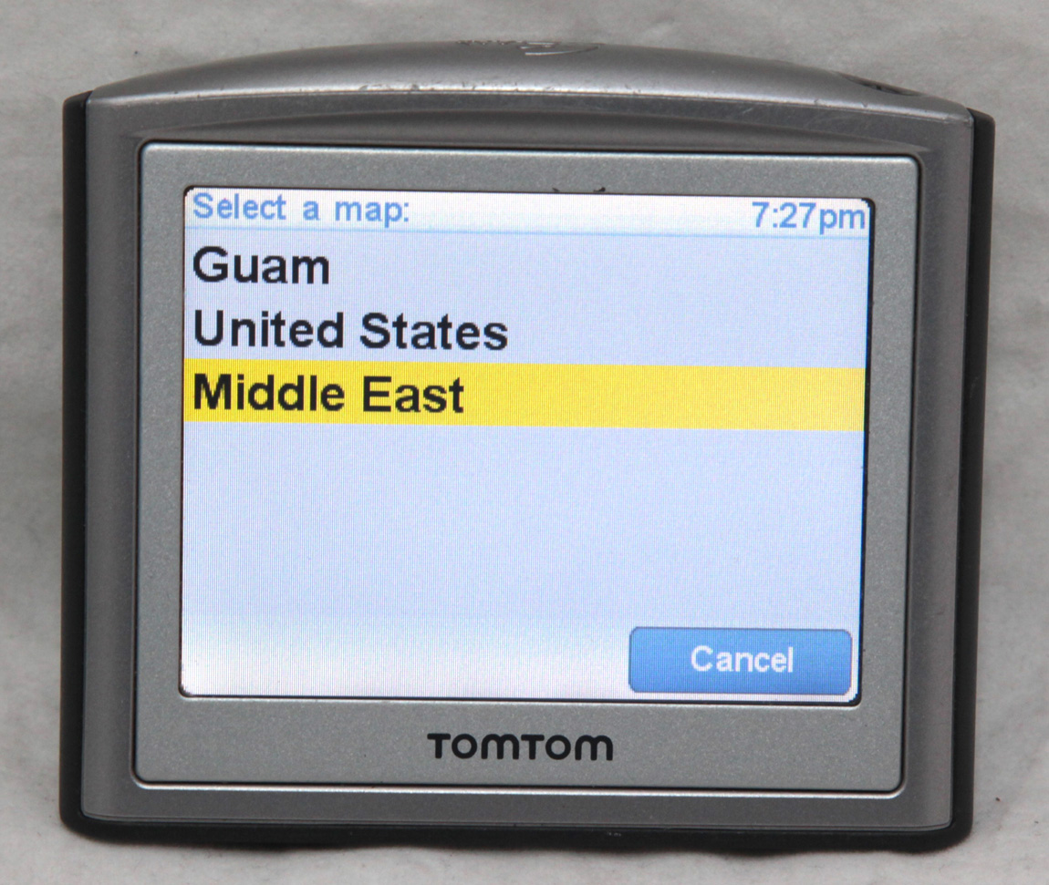 Updating a tomtom one 3rd edition