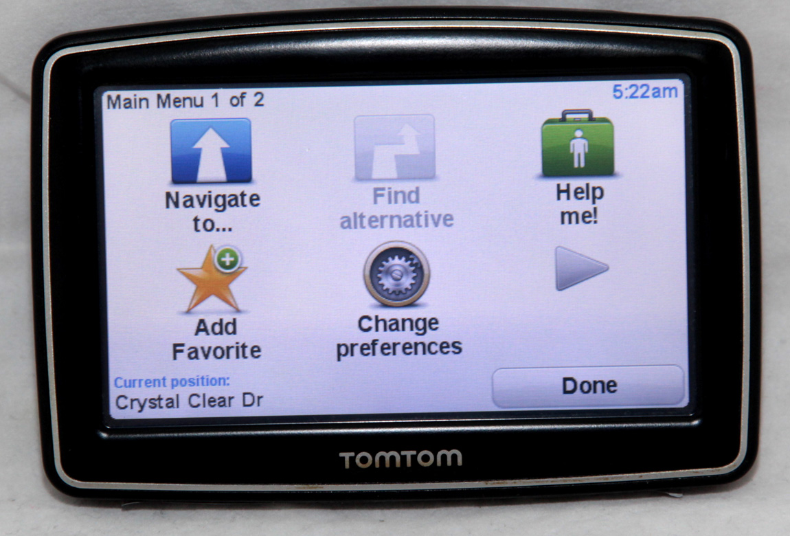 tomtom xxl gps navigation 2018 usa uk france australia new. Black Bedroom Furniture Sets. Home Design Ideas