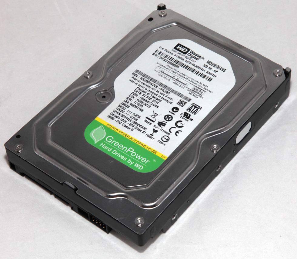 Western Digital Green Power WD2500AVVS-61L2B0 250GB 3.5 ...