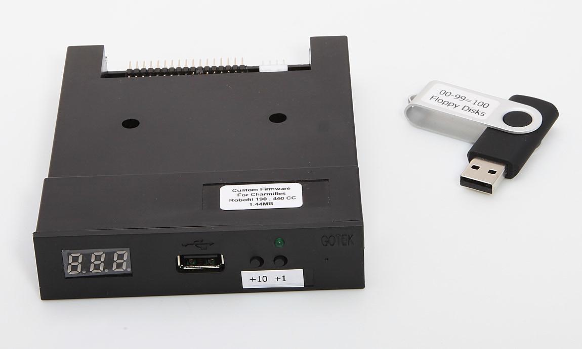 Floppy Drive To USB Converter Kit For Charmilles Robofil 200 290 300 310 400 500