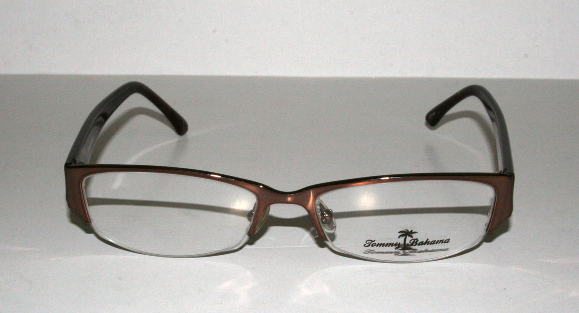 Are All Eyeglass Frames Made In China : New Authentic Tommy Bahamas TB107 52 16 130 Chestnut ...