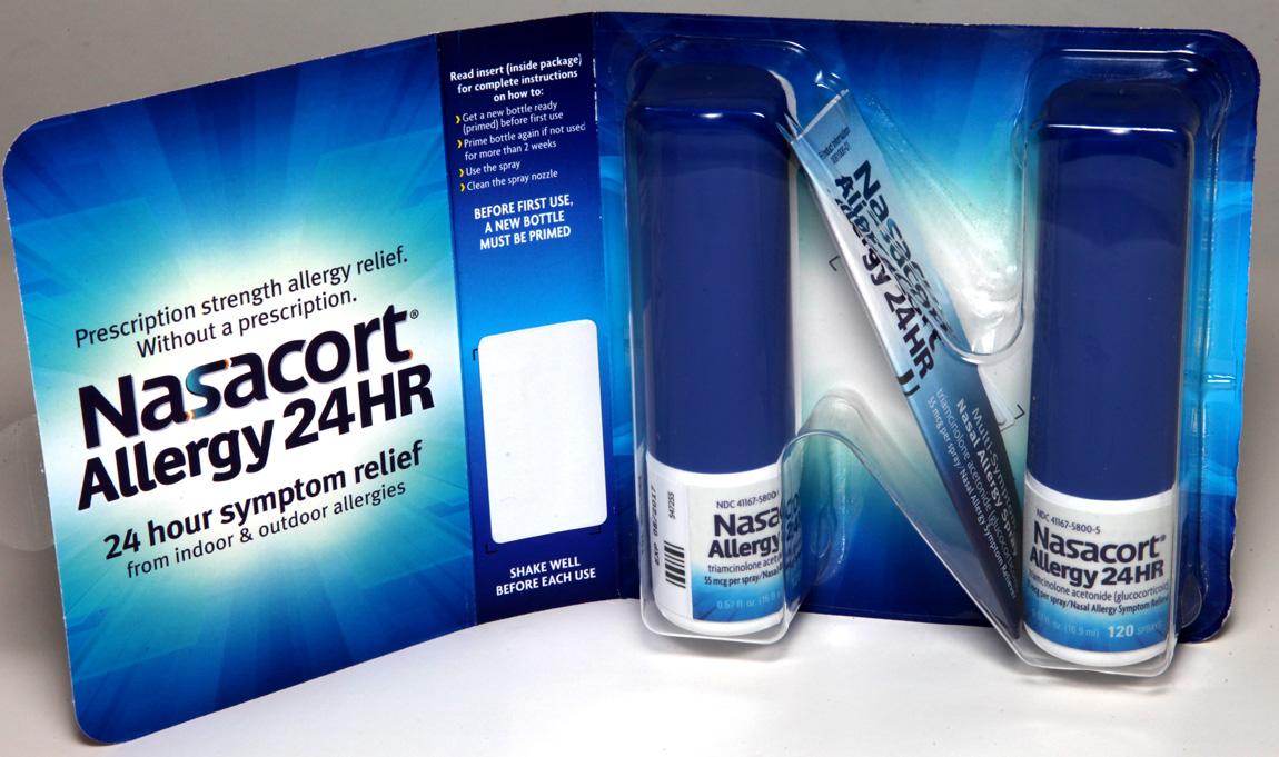 Expires 022019 Nasacort 24hr Allergy Relief 2 Bottles X 120 240