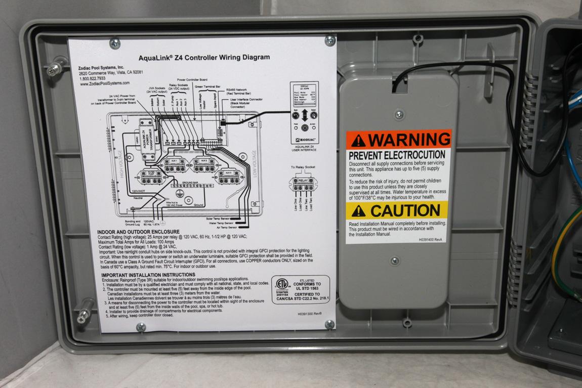 aqualink sub panel wiring diagram hayward wiring diagram