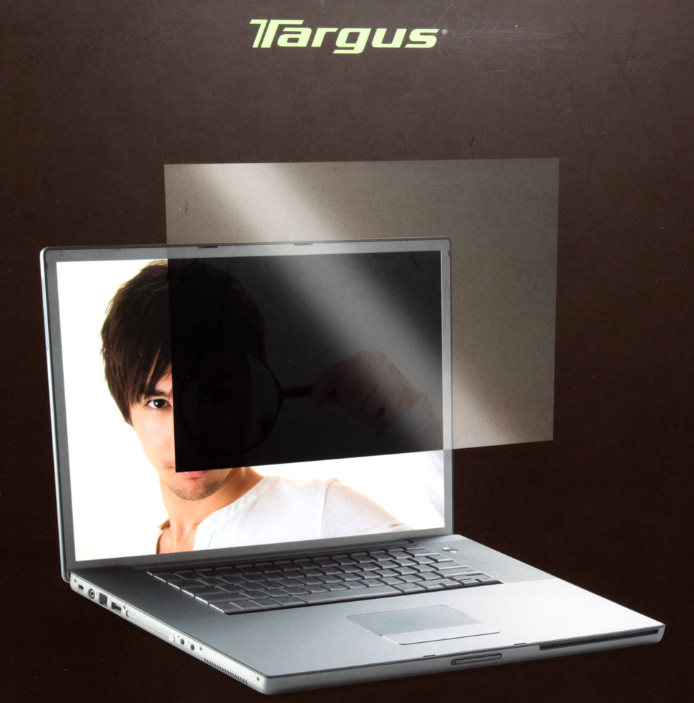 targus 17 inch wide screen laptop privacy screen filter. Black Bedroom Furniture Sets. Home Design Ideas