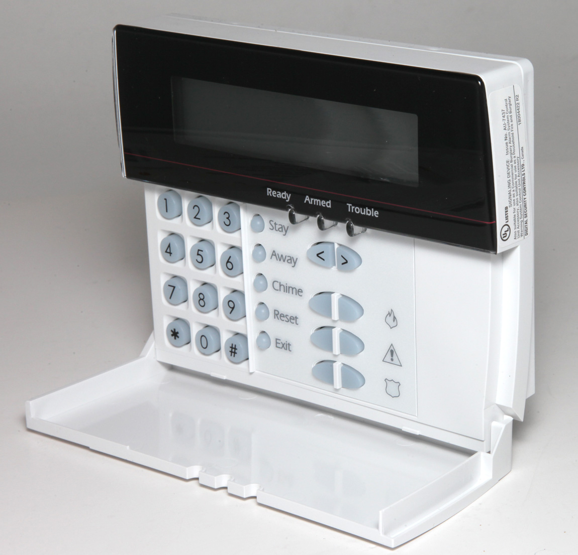 Détails : New DSC Power Series LCD-5500Z LCD5500Z Alarm Keypad With Zone  Terminals NO BOX