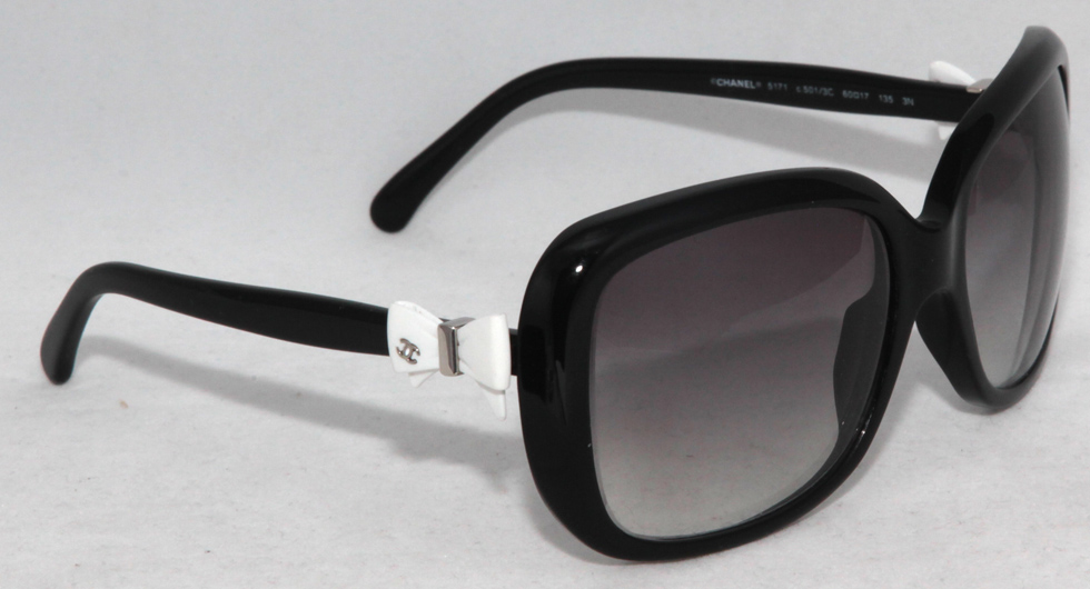 Pre-Owned Authentic CHANEL 5171 Bow Womens Prescription ...